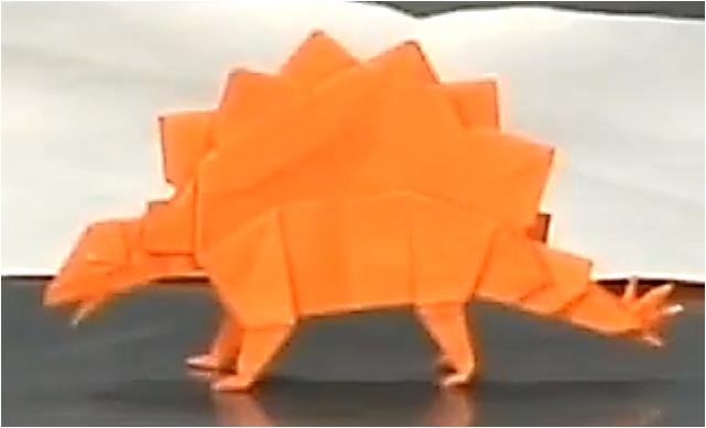 스테고사우루스접기 동영상